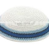 Israeli religions related dome caps cotton hand made dome jewish caps / Jewish kippot for retail Kippah