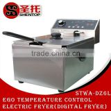 Shentop electric industrial fryer used henny penny pressure fryer deep fryer temperature control STWA-DZ6L
