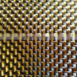 metallic carbon fiber fabric GOLDEN SILVER for auto parts sport parts