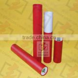 red printed paper cardboard tube for lip balm packaging