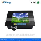 Waterproof 6.5inch industrial touchscreen monitor with using 700nits Mitsubishi LCD panel