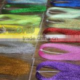 "Assorted colors Flashabou crystal Flash Tinsel Flash Fly Tying Material 1/69"" wide"