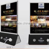 10000mah hottest selling table advertisement menu power bank for restaurant/coffee shop/bar