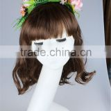 Wholesale fashion & bride hair accessories, small fresh felt flower headbands for women, handmade jewelry in china