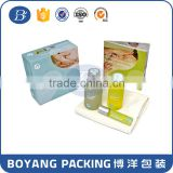 Alibaba China Manufacturer Customized cosmetic gift set packaging box