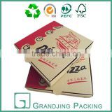 Hot sale square lunch corrugated pizza box