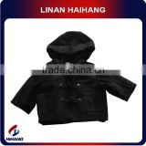 baby check fur hooded boys fancy jacket