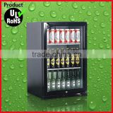 90L New Style commercial bar table top single beer bottle cooler
