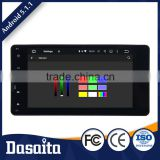 10.2 Inch 2 din Microphone control panel Android car gps dvd player for MITSUBISHI OUTLANDER 2014 2015