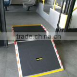 Xinder CE certificate FMWR-A Series Folding Manual Bus Ramp For wheelchair loading 350kg