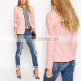 Wholesale business suits lady formal fashion new pink office work blazer woman