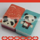2013 Newly Designed Pretty Panda Printed Non-Scratch Scouring Kitchen Cleaning Sponge Pad