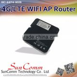 Multi-function SC-4474-4GR with sim card and power bank 4G wireless AP router