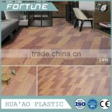 laminated pvc floor mat roll wooden decorative sheet for flooring cover