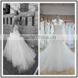 Lace Sweetheart Neckline Floor Length Custom Made Formal Bridal Wedding vestido de novia BW165 2014 polyester wedding dress