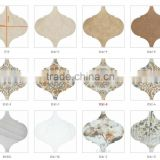 glass mosaic china mirror tile backsplash flooring for bathroom lantern shape ceramic mosaic tile