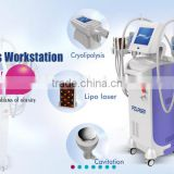 best body FDA approval lipo laser machine price PZ slimming , Cryo + lipo laser + RF + Cavitation/ CE, factory