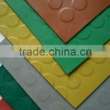 button rubber tiles