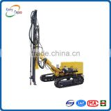 KG925D middle pressure electric motor crawler mounted pneumatic surface DTH drilling rig