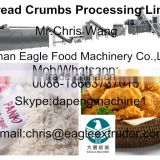 Stainless steel Bread crumb processing line making machine