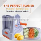 Fully stocked Custom brand/logo welcome new tri-blade vegetable slicer spiralizer mandoline chopper kitchen essential