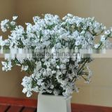 Home table decoration silk babys breath decorative artificial flower making