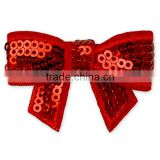 Wholesale Sequin Custom Bow Tie Shiny Glow Bow Tie Kids Bow Tie