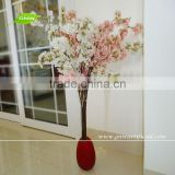 GNW BLS036 3ft Decorative Artificial Flower with Pink Cherry Branches for Wedding Table Centerpiece