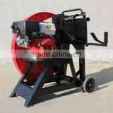 4 stroke faster trailer mounted mechanical hot sale cheap ce approved petrol sawmill machine (B0320)