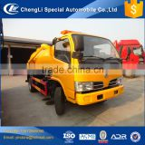 mini dongfeng jet vacuum sewage drainage truck 3m3 4m3 for sale