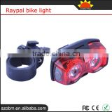 RAYPAL RPL-2230 2 LED 3 Mode Bike Red Tail Lights Wholesale Bicycle Light