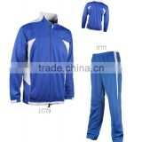 2013 Cheap Blank Customized Soccer Jogging Suits Tracksuit,micro fibre track top jacket with navy style