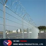 Double circle airport fence