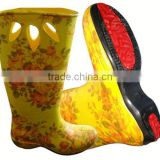 Attractive New Injection fawziya boots with chain for outdoor and promotion,light and comforatable