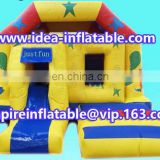 party game inflatable jumping house combo bouncy castle ID-CB089