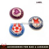 Bag Parts custom silicone patch logo rubber label for handbag