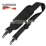 Adjustable and Comfortable Pad Shoulder Strap with Swivel Hook for Bags Briefcases Luggage Black