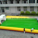new inflatable football field inflatable soccer field inflatable outdoor sports equipment                                                                         Quality Choice
