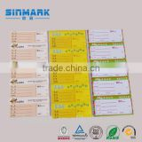 SINMARK Supermarket Thermal Scale Label, Weighing Scale Label