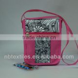 diy drawing bag with fabric marker pens set