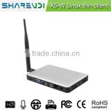 32bit color depth WinCE FCC RoHS USB Zero Client with RDP 8.1 protocol Office Workstation for Multi Users Cloud