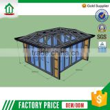 Hotsale Newest Design Foshan Wanjia Customized Glass Garden House