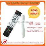 2014 Top Sell universal remote control good for smart touch controls with 57 Keys ir TV remote control