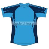 Professional polyester custom blank rugby shirts