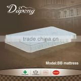Healthy aloe vera high density foam portable BB mattress