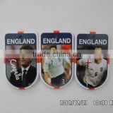 CC soccer sports meet 3d pin badge