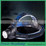 Hot Outdoor Waterproof 1600lm Xm-l T6 LED Headlamp + 2 X 18650 Rechargeable Batteries + Charger