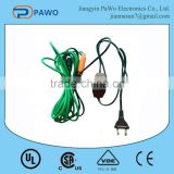 good service pvc greenhouse heating cable manufacturer in China