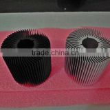 China leading manufacturer competitive price 6000 series extruded aluminum heatsink