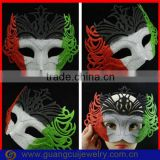 fashion Italy flag masquerade masks bulk